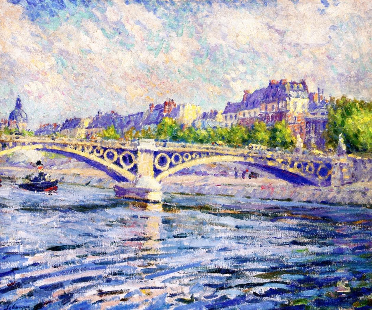 Paris, Tugboat on the Seine