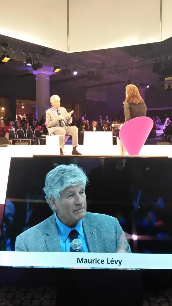 Maurice Lévy @PublicisGroupe mobility will dominate the world: where is the target? #wf14 http://t.co/Eqtv70gRIm