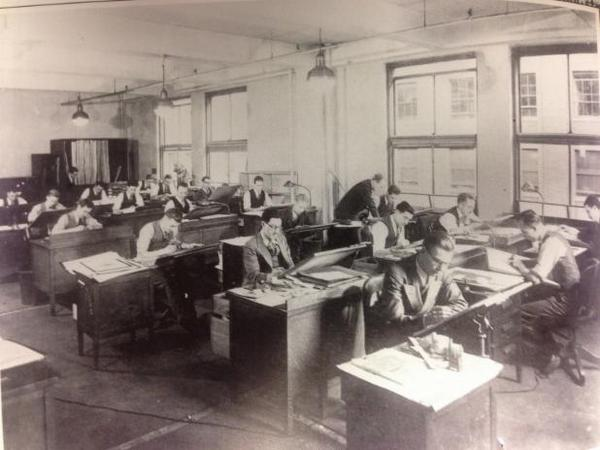 A behind-the-scenes glance at BBDO New York's art department in the 1930s #tbt http://t.co/vLLttE1y3v