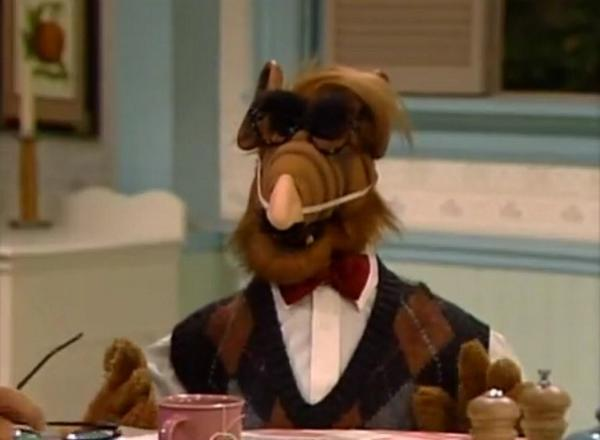 retronewsnow on twitter this is my halloween costume im gene shalit too obscure alf october 1987 episode httptcozfcull0bna - Alf Halloween Episode