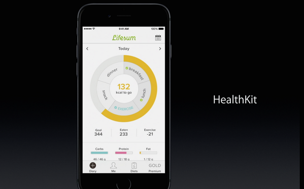 """Proud investor! """"@peralmq: Very cool to see @Lifesum being featured on today's Apple #specialevent Go #sthlmtech! http://t.co/rpF8yPKVeX"""""""