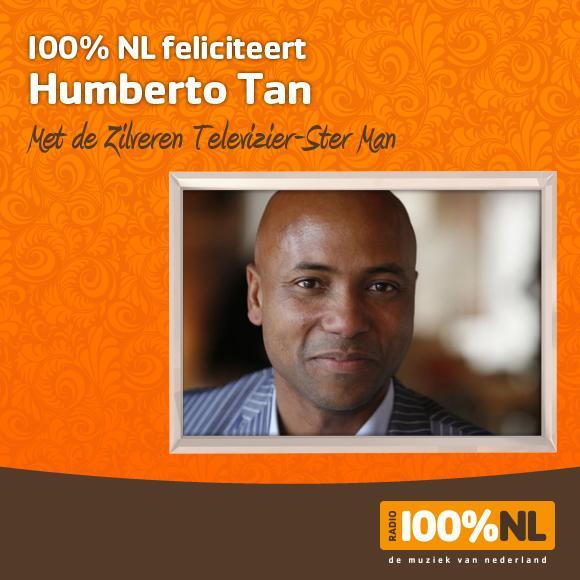 * Presentator en talkshowhost @HumbertoTan winnaar van de Zilveren Televizier Ster Man. Verdiend! #Televizierring http://t.co/10bwrtp8UN
