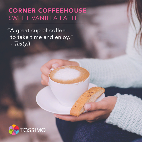 TastyII, we're glad you took the time to enjoy our Corner Coffeehouse Sweet Vanilla Latte.  http://t.co/R5vZKdIGim http://t.co/aLQMY60nPj