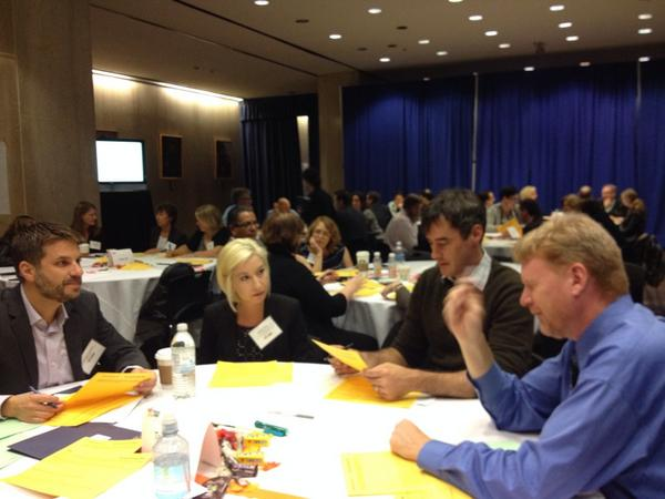 participants at Partnerships for Opening Doors Summit