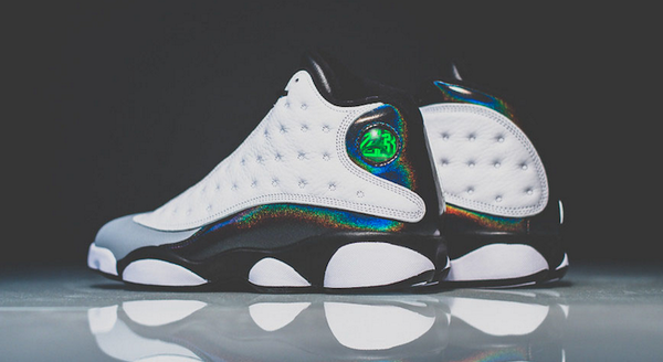 b1515a0a130e Your best look yet at the iridescent  Barons  Air Jordan 13 Retro  http