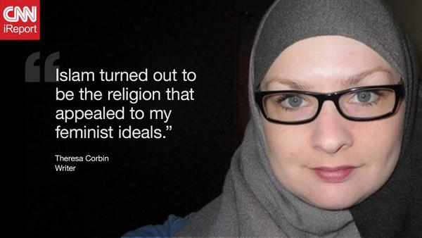 Theresa Corbin leftist feminist on joining Islam