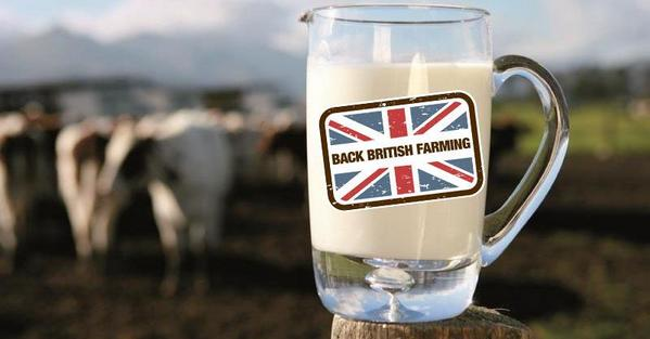 To show your support for British dairy farmers, amid falling milk prices, buy British dairy produce and RT this image http://t.co/iPkyZjX5tQ