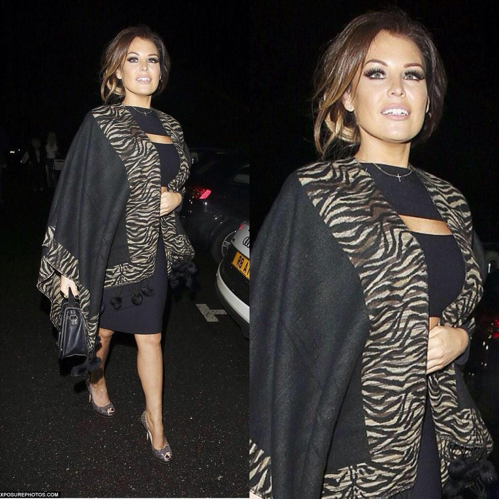 RT @WithLove_Jess: Mail On Line @MissJessWright_ wearing animal print trim Cape filming Towie available here http://t.co/zfyXc9P32C x http:…