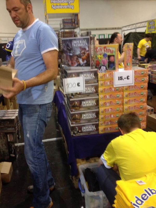 Most unexpected release at #essen14 #spiel14 Imperial Assault from @FFGames http://t.co/sP5HA0Xuhp
