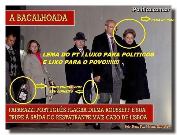 "Cacau Moro on Twitter: ""Dilma não bebe MAS FICA BEBADA,fica ..."