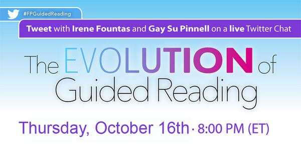 Thumbnail for Fountas and Pinnell Twitter chat on Guided Reading part 2