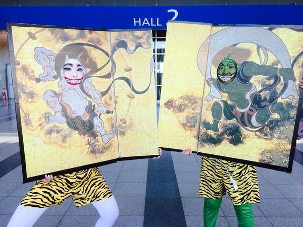 えさかな! #ハロコレ仮装2014 http://t.co/Ufh2aJAXaT