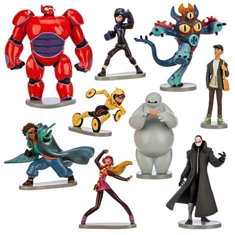 애니메이션 영화 정보봇 On Twitter Quot 디즈니에서 발매한 빅 히어로 6 의 캐릭터 피겨세트입니다