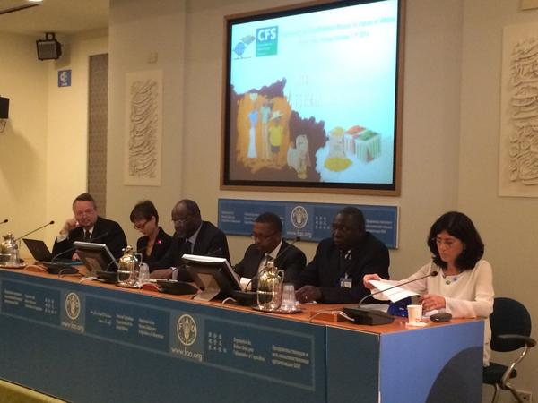 @CFSupdates chair H.E Ambassador of Liberia opens our side event + @OneAcreFund http://t.co/4mKQ1NAk9Z