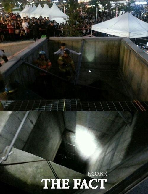 Shit two confirmed dead at 4minute concert. 20+ fans fell 2-3 stories through a collapsed vent. This can't be real... http://t.co/kwd243NQNQ