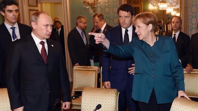 """Порошенко и Путин """"сделали шаг вперед"""", но разногласия остались, - премьер Италии - Цензор.НЕТ 1831"""