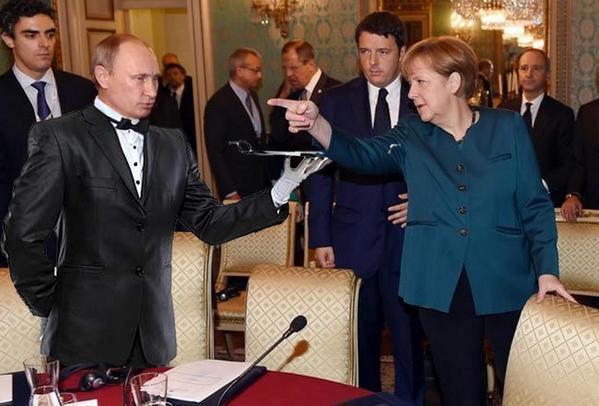 """Порошенко и Путин """"сделали шаг вперед"""", но разногласия остались, - премьер Италии - Цензор.НЕТ 3494"""