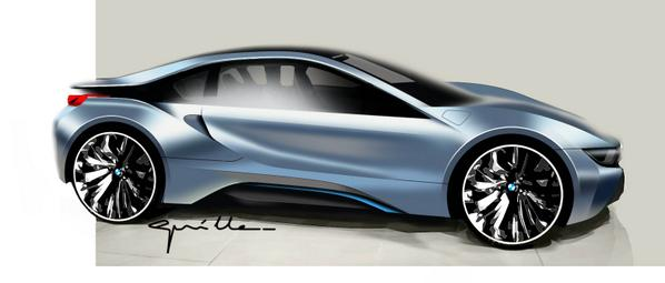 Bmw Uk On Twitter Creation Starts With Imagination Bmw I8 Http