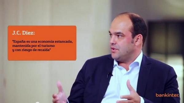 """""""España es una economía estancada y con riesgo de recaída"""", según @josecdiez  http://t.co/ANw0sPF4ml http://t.co/kODNeAotPo"""