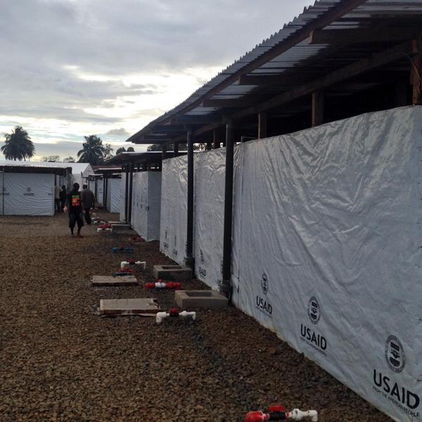 #Ebola treatment unit w 300 beds will soon be ready in #Liberia - an extraordinary engineering & life-saving feat http://t.co/TeiGRNr53g