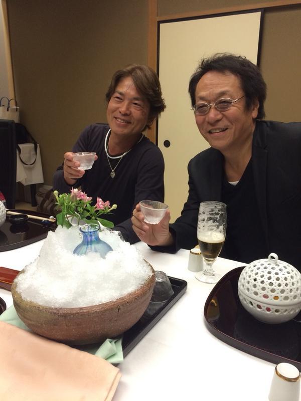 今日は横澤さん、桐嶋さんと飲み会。