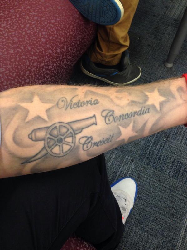 arsenal tattoos arsenaltatts
