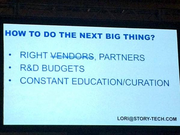 How to do the next big thing in social storytelling @worldofschwartz #SFSummit http://t.co/q2LcK2o3V1
