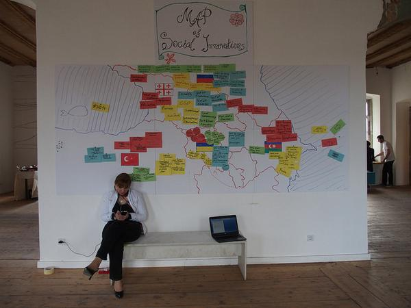 Social Impact Days in #Georgia: Mapping Social Innovations. #FF @inna_veleva for updates. #sid14 #socent @mitost_org http://t.co/mYteMS9qZ0