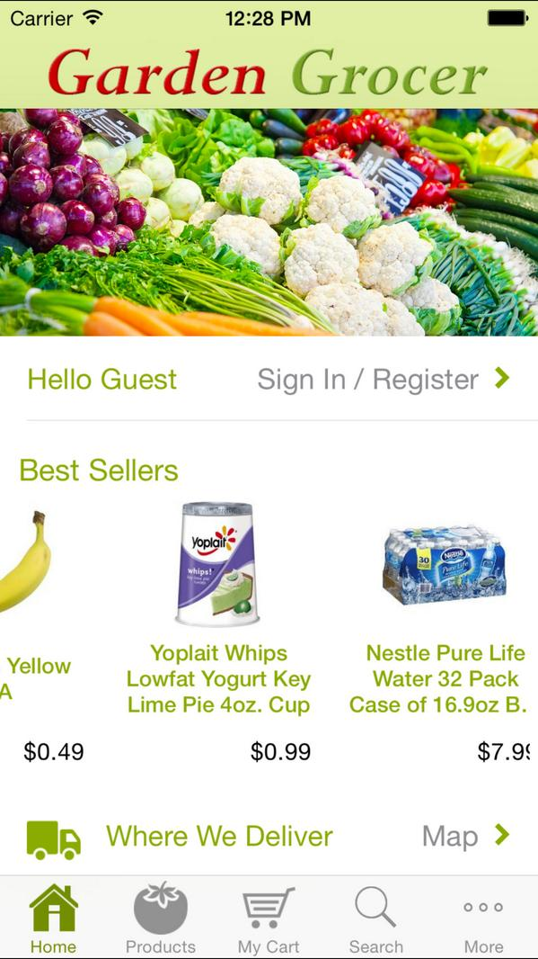 grocer httpbloggardengrocercomgrocery delivery in orlando florida has become a lot more magical with the newly released garden grocer ios app - Garden Grocer