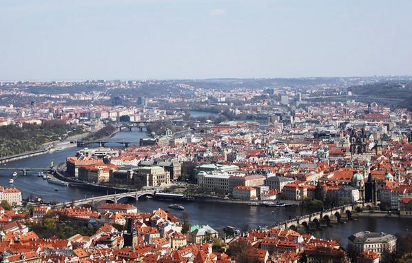 #Four Prague's gems are definite