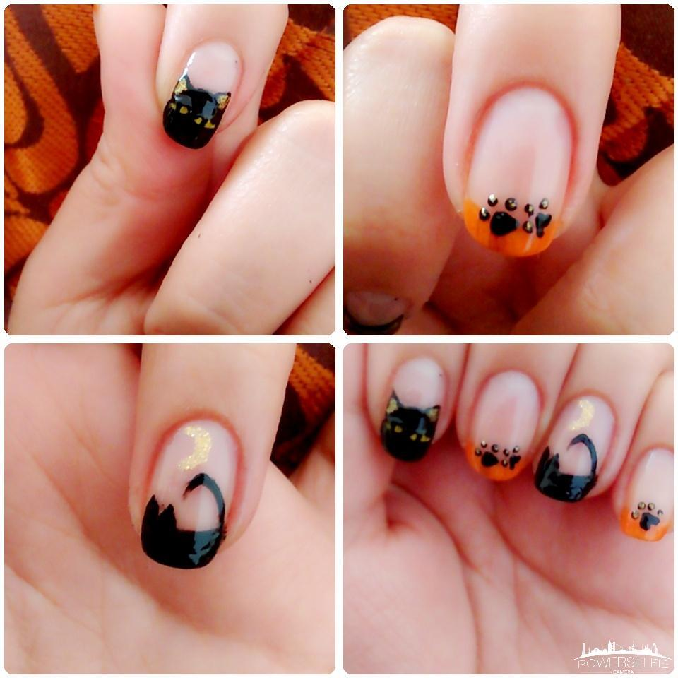 """amy sweet nails❤ on twitter: """"@cutepolish these is my black cat"""