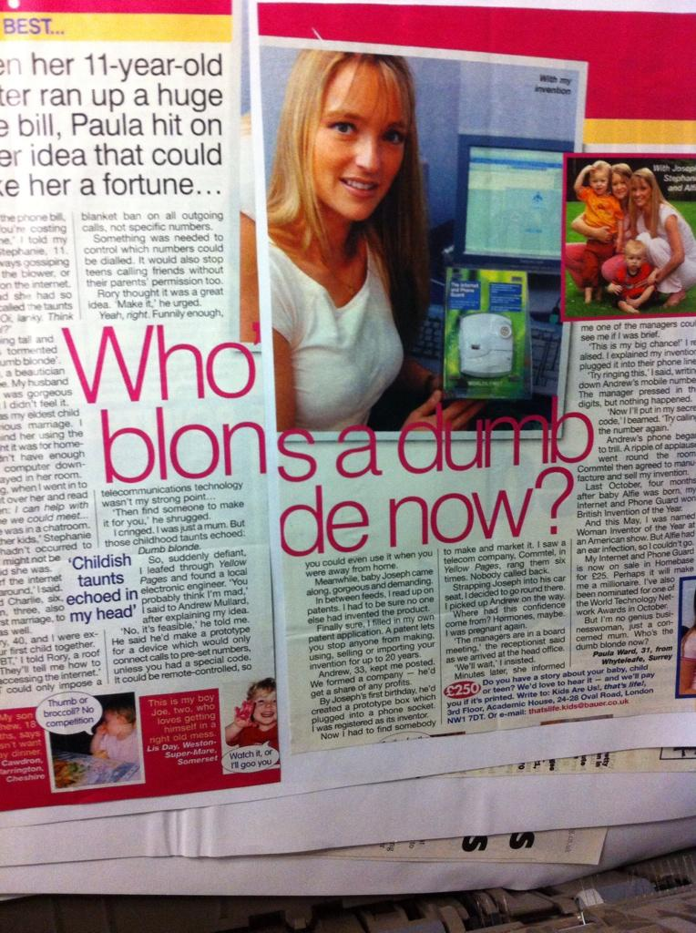 RT @TheNewsAtGlenn: Who blons a dumb de now, eh? WHO BLONS A DUMB DE NOW? http://t.co/9l4QRKf4Vr