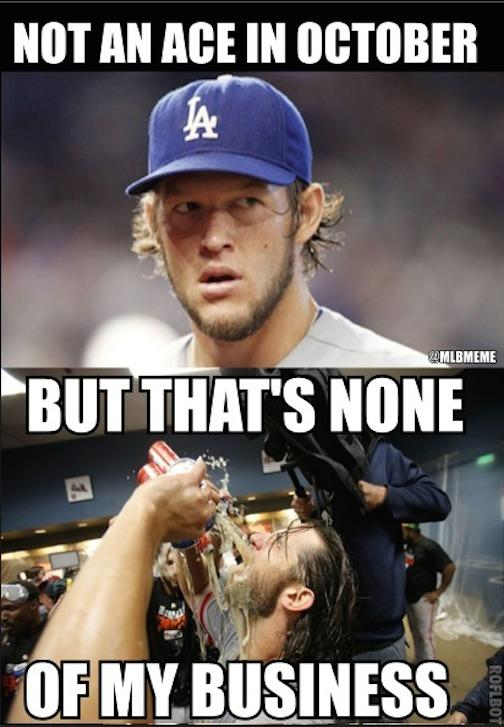 Mlb Memes On Twitter When It Comes To The Postseason