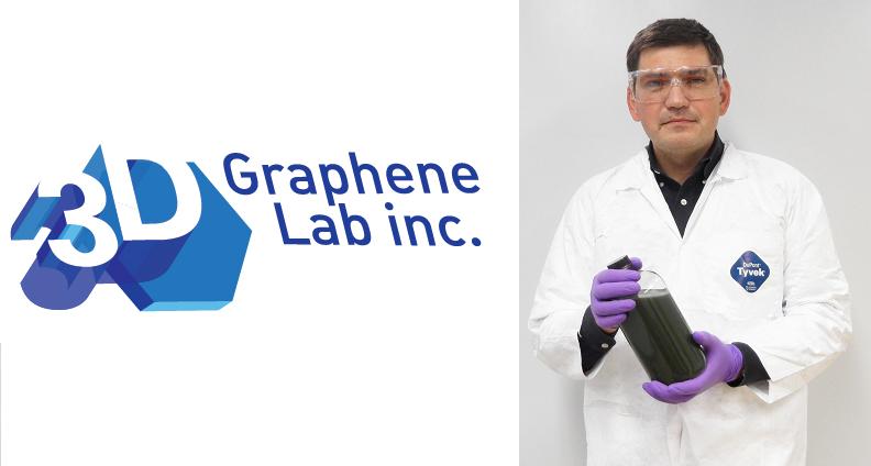 Batería grafeno impresión 3D
