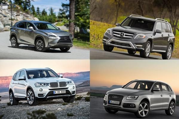 styling size up 2015 lexus nx against the bmw x3 audi q5 and mercedes glk. Black Bedroom Furniture Sets. Home Design Ideas