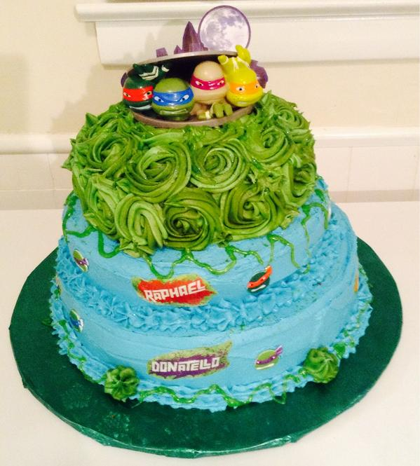 Excellent Nakisha Smith On Twitter Tmnt Birthday Cake For A Little Girl Personalised Birthday Cards Paralily Jamesorg