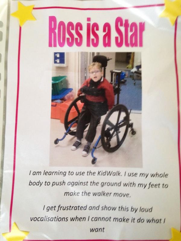 How brilliant is Ross ? We are proud of him. Please #RT so dad can show him the twitter support.  http://t.co/jIRVG3bA48