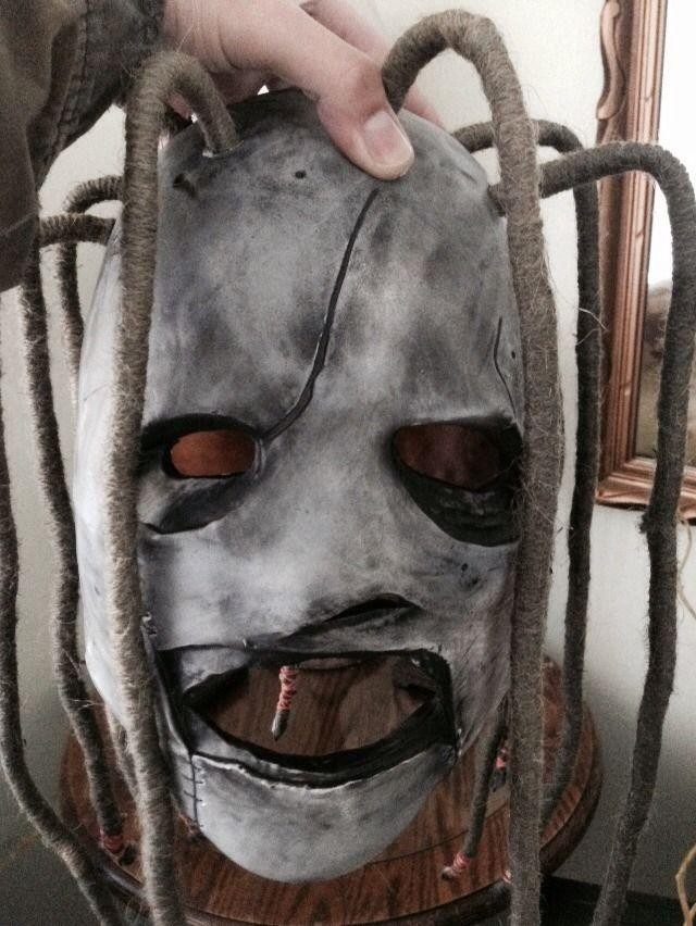 how to make corey taylor iowa mask