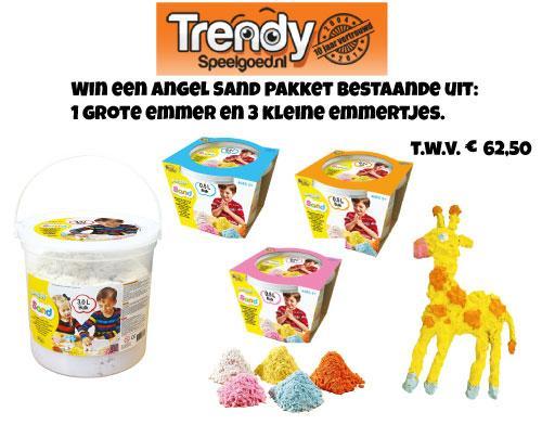 Winactie: Angel Sand binnenspeelzand! t.w.v. €62,50 http://t.co/KaIvy3MrJO RT + maak kans! Meer winkans op website http://t.co/3imFNDY4E5