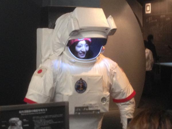 タイドさんに先越されたけどはやみん宇宙飛行士あっぷっぷ http://t.co/mx8fmUCEf1
