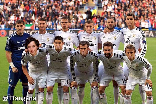 Pequeno Nicolas Baño:Real Madrid 2015