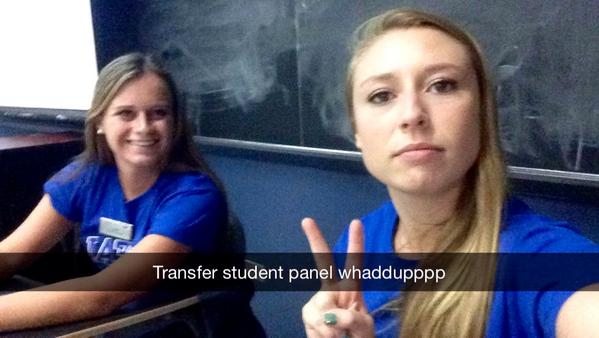 @UBAdmissions helpers ready for the transfer student panel!! #UBuffalo http://t.co/ys7ljt0RhO