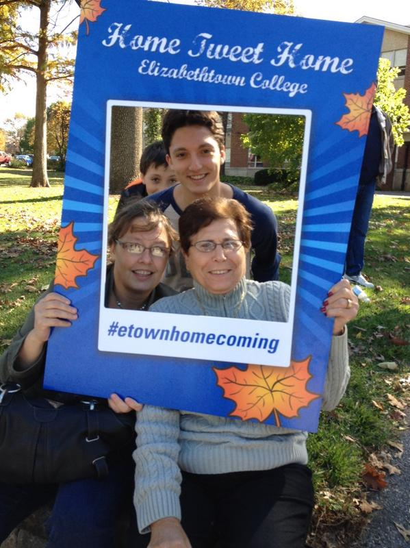 #etownhomecoming great start to our visit http://t.co/pUaztUAMeB