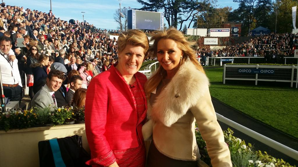 We all love @clarebalding ....many happy days talking horses with her and my Whiters in years gone by x http://t.co/w7XgCedItM