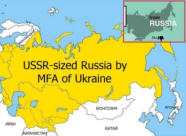 Russian Embassy UAE on Twitter Ukraine MFA sees own country as