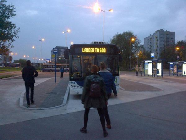 Unsound's transport to the Swans concert. It had to be named this way, right? http://t.co/KrD1Ox5ugF