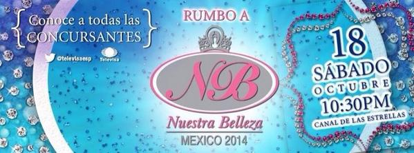 Esta noche @davidzepeda1 y Yo te presentamos a las Candidatas de #NuestraBellezaMx 10:30 Pm por el @Canal_Estrellas http://t.co/bqRzzFaBxL