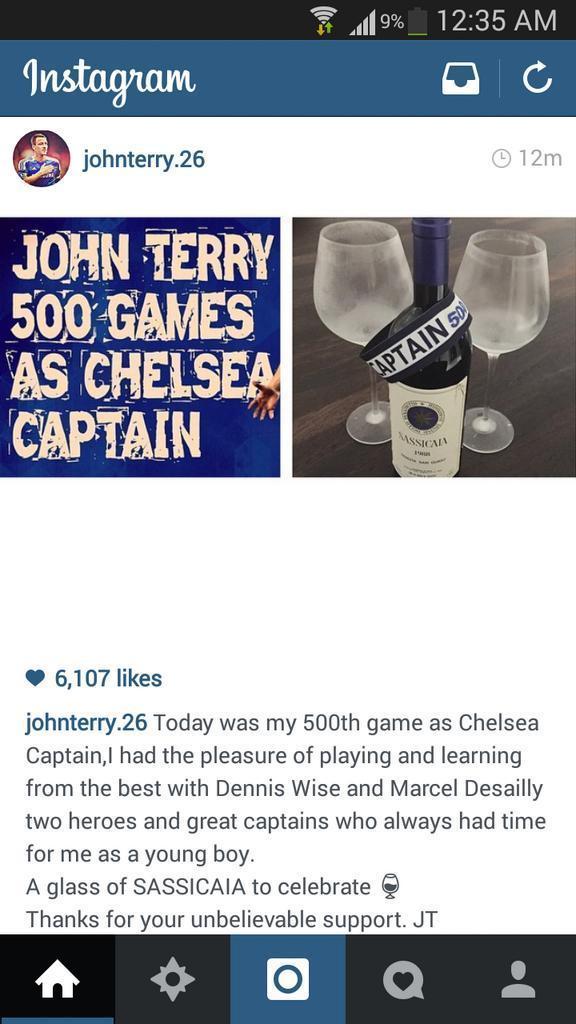 Captain, Leader, Legend - John Terry - Page 3 B0QKozJCIAEhcpA