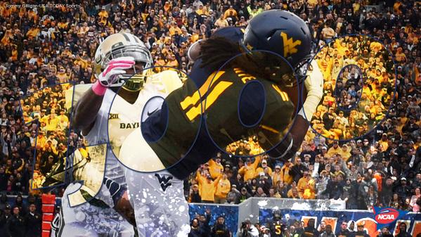 West Virginia's Kevin White just became the 1st 1,000-yard receiver of 2014! http://t.co/TTyb3yQDXC