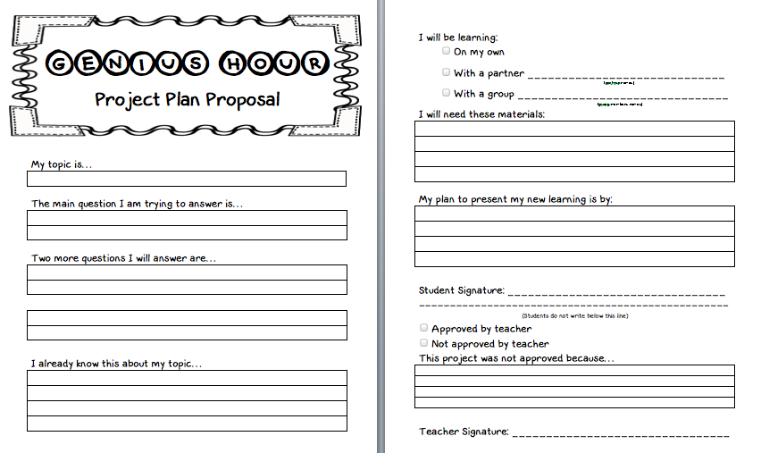 Melissa Tuttle On Twitter Just Created The Project Proposal Plan